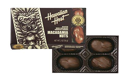 ハワイアンホースト・ジャパン マカデミアナッツチョコレート TIKI 2oz(4粒入)56g×6個