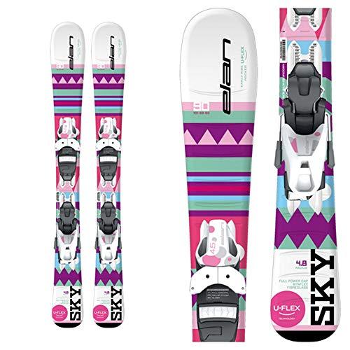 ELAN Sky Kids Skis EL 7.5 バインディング 140cm