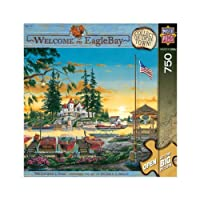 """Jigsaw Puzzle 750 Pieces 46cm X24""""-Welcome To Eagle Bay-Millionaire's Row"""