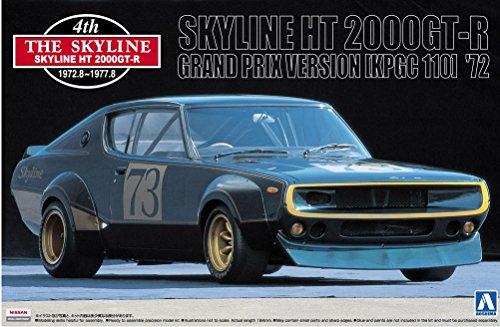 1/24 ザ・スカイライン No.10 スカイライン HT 2000GT-R グランプリ仕様 (KPGC110) '72