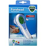 Vicks Forehead Thermometer | Quick Temperature Reading, Fever, Colds & Flu, Clinically Proven Accuracy, Trusted Brand