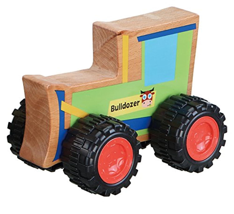 EverEarth PBS Kids buldozer木製Push Alongおもちゃ
