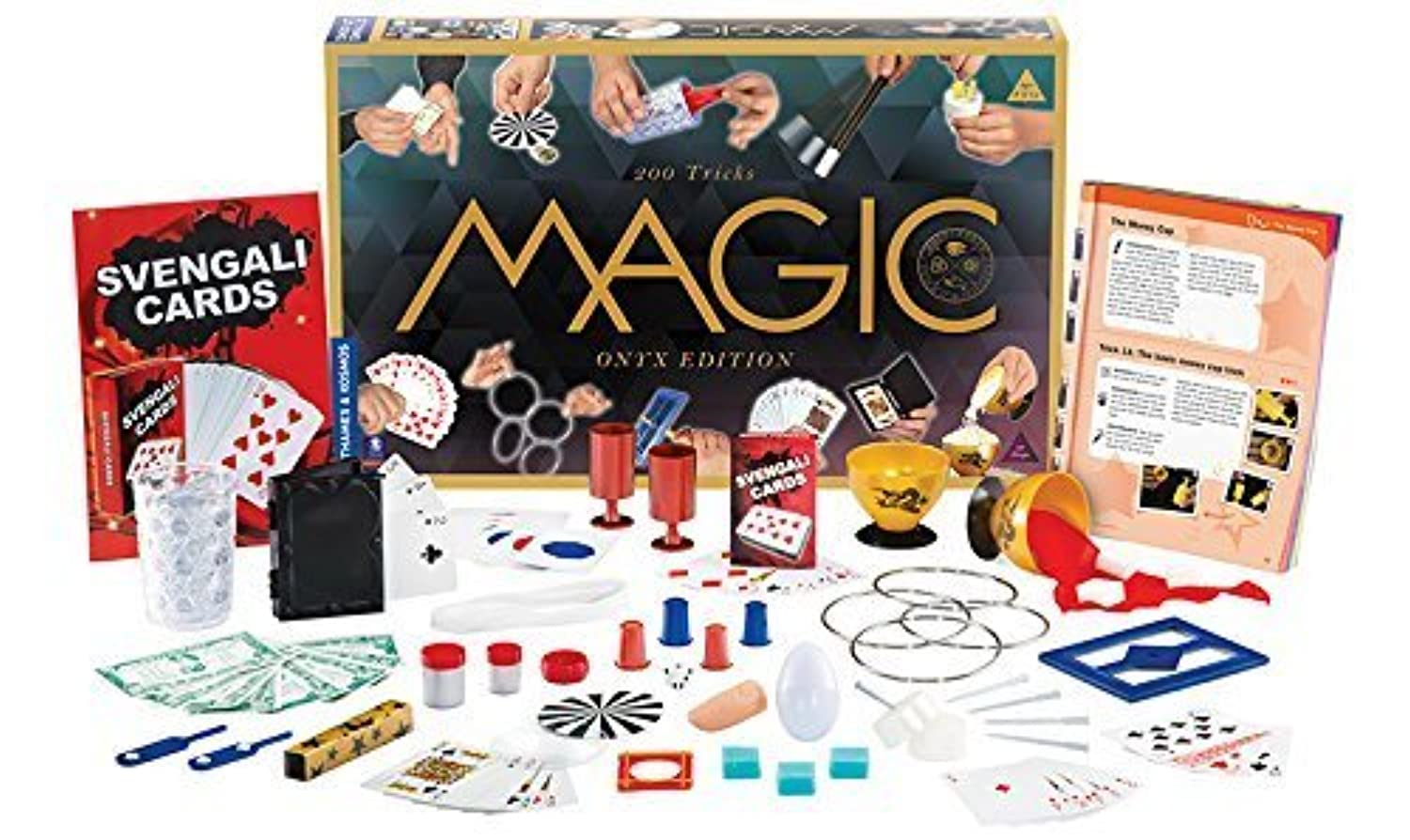 Thames & Kosmos Magic: Onyx Edition Playset with 200 Tricks by Thames & Kosmos [並行輸入品]