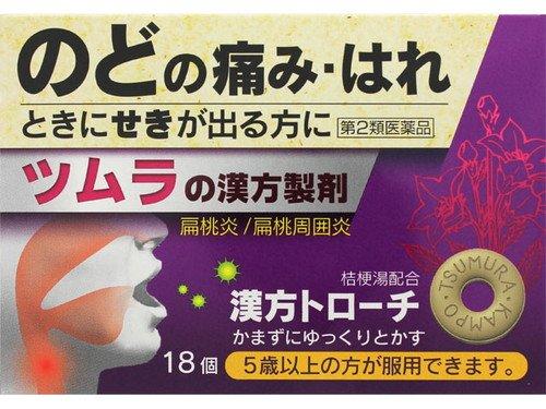 (医薬品画像)ツムラ漢方トローチ桔梗湯