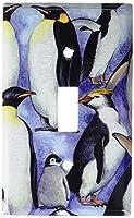 Penguinsスイッチプレート Single Toggle 112-S-plate 1