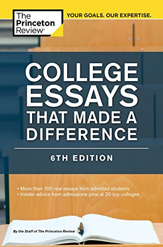 Download College Essays That Made a Difference, 6th Edition (College Admissions Guides) 0804125783