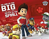 Paw Patrol No Job Too Big Mini Poster