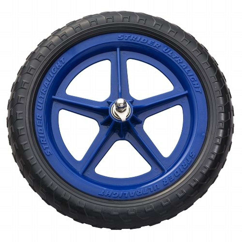 ストライダー オプションパーツ ウルトラライト ホイール ブルー (シールドベアリングタイプ)