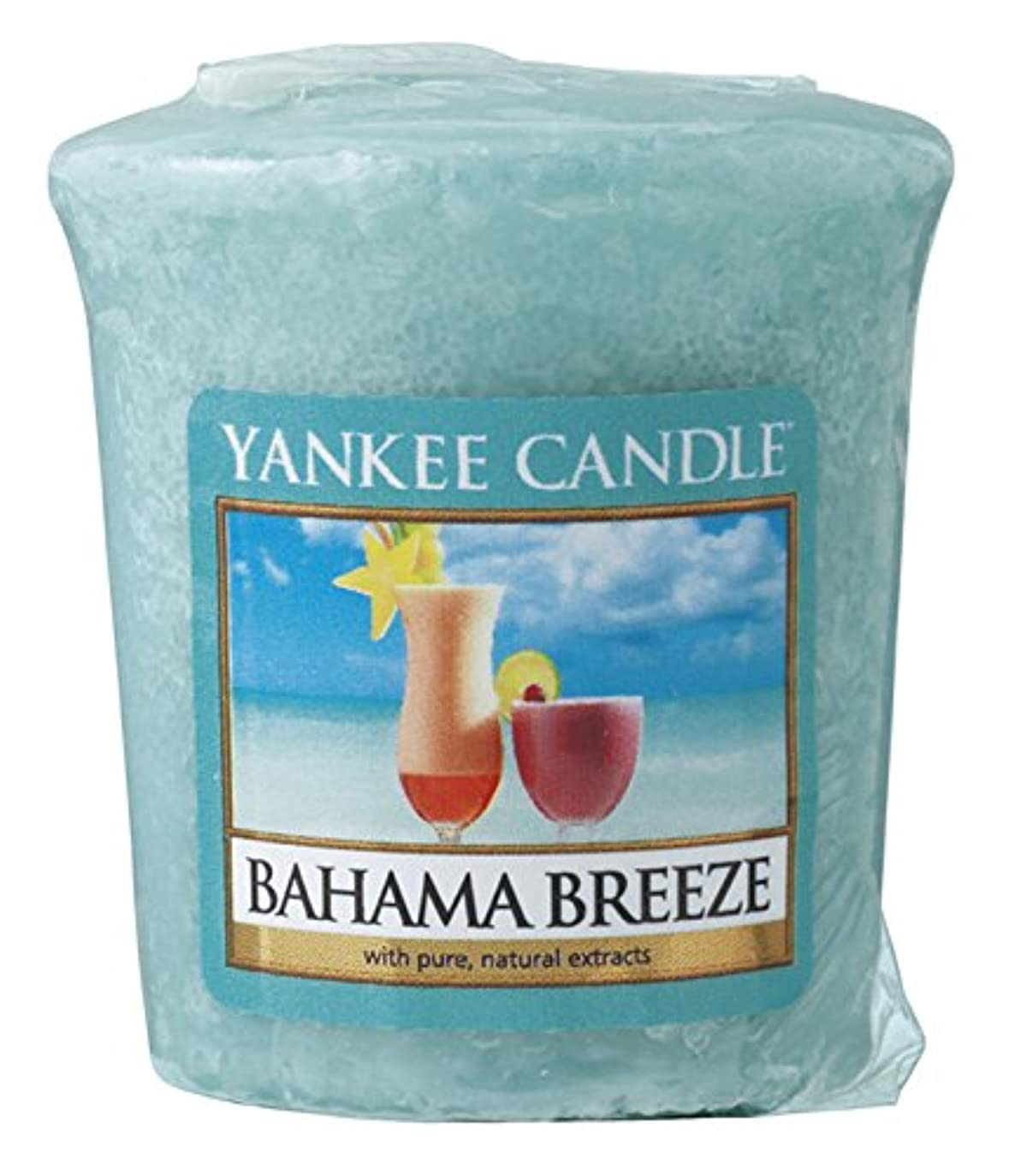 個人的なスプレー熱望するヤンキーキャンドル サンプラー お試しサイズ バハマ 燃焼時間約15時間 YANKEECANDLE アメリカ製