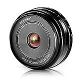 NEEWERNEEWER28mm f/2.8手動フォーカスプライム固定レンズ FUJIFILM APS-Cデジタルカメラに対応 例えばX-A1/A2 X-E1/E2/E2S X-M1 X-T1/T10 X-Pro1/Pro2 (NW-FX-28-2.8) 【並行輸入品】