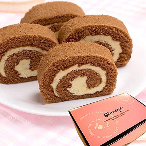 バレンタイン 義理チョコ 人気 ポテトロールケーキ カットタイプ(チョコ)
