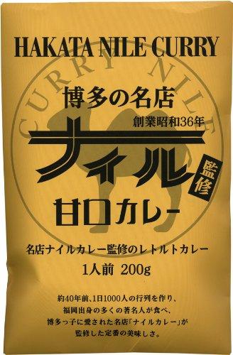 博多の名店ナイル監修 甘口カレー 200g