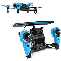 【国内正規品】Parrot ドローン Bebop Drone + Skycontroller 1400万画素魚眼 8GB 内部フラッシュメモリー ブルー PF725141