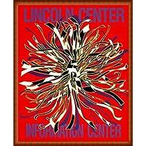 ポスター ドロシー ガレスピー Lincoln Center Information Center 1989年 額装品 ウッドハイグレードフレーム(ナチュラル)