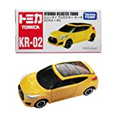 韓国 トミカ (KR-02) ヒュンダイ ヴェロスターターボ (現代自動車) HYNDAI VELOSTER TURBO 日本語パッケージ 日本未発売TOMICA