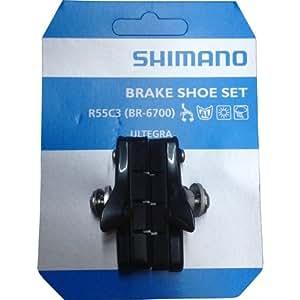 シマノ ブレーキシューセット BR-6700他適応 グロッシー カートリッジ R55C3 Y8G698130