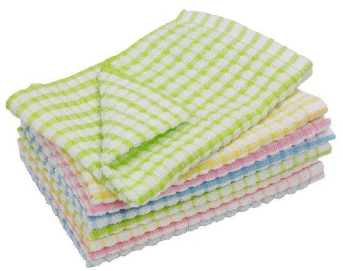 RoomClip商品情報 - 台布巾 食器拭き おしぼりに!  ワッフルタオル 8枚組