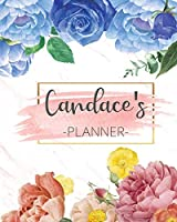 Candace's Planner: Monthly Planner 3 Years January - December 2020-2022   Monthly View   Calendar Views Floral Cover - Sunday start