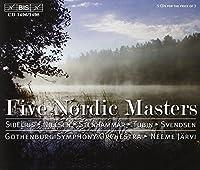Five Nordic Masters: Svendsen / Stenhammer / Nielsen / Sibelius / Tubin by Gothenburg Symphony Orchestra (2004-09-28)