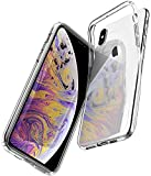 【Spigen】 スマホケース iPhone XS Max ケース 6.5インチ 対応 TPU 超薄型 超軽量 クリア リキッド・クリスタル 065CS25122 (クリスタル・クリア)