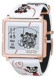 [エプソン スマートキャンバス]EPSON smart canvas ミッキー&ミニー ラブラブシリーズ ホワイト 腕時計 W1-DY10320