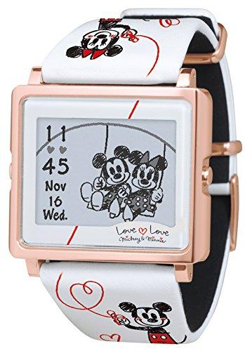 [エプソン スマートキャンバス]EPSON smart canvas ミッキー&ミニー ラブラブシリーズ ホワイト 腕時計 W1-DY10320の詳細を見る