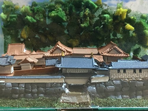 日本100名城 鹿児島城本丸御殿  お城 模型 ジオラマ完成品 A5サイズ