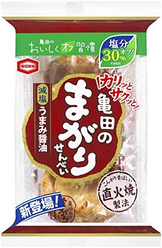 亀田製菓 減塩亀田のまがりせんべい 10枚×12袋