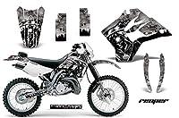 Kawasaki kdx2201997–2005MXダートバイクグラフィックキットステッカーデカールKDX 220Reaperシルバー