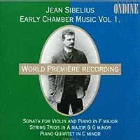 Sibelius:Early Chamber Music 1