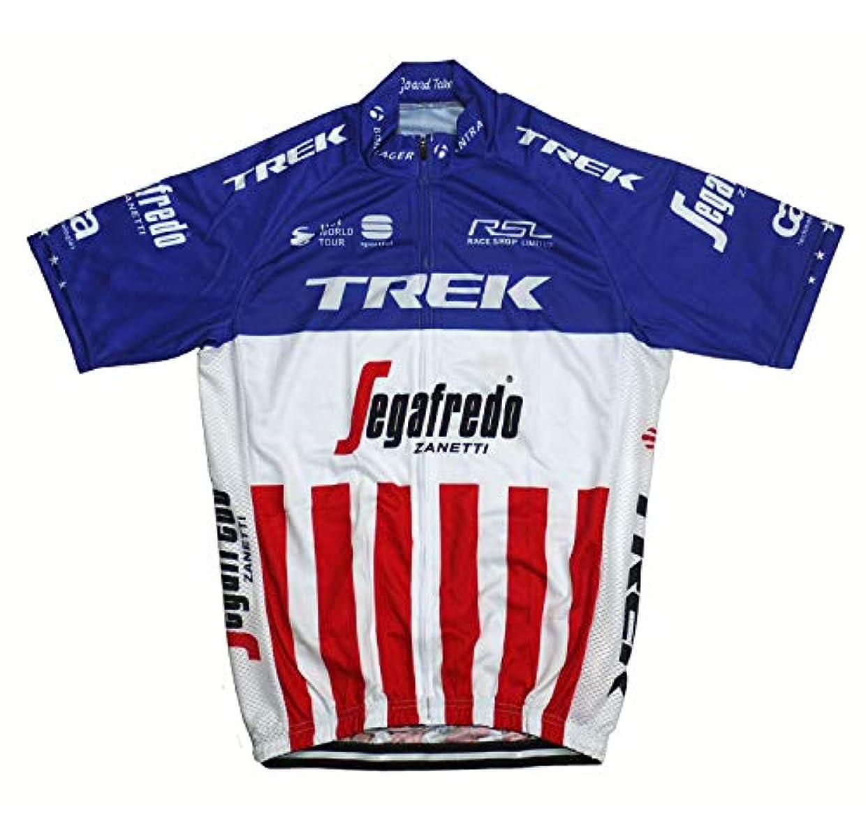 鷹エンドウでるサイクルジャージ レプリカ プロチームユニフォーム No24 アメリカ メンズ 半袖 クールマックス仕様 自転車 MTB サイクリング ロードバイク