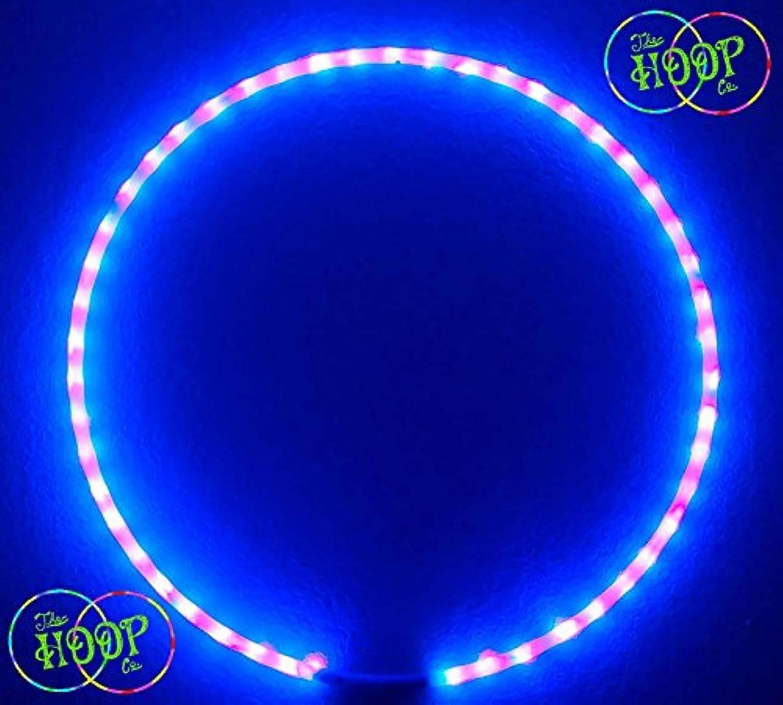 分岐する詐欺パトワProfessional Blacklight UV Ledフラフープ50 x LEDの3 / 4