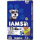 アイムス (IAMS) ドッグフード 11歳以上用 毎日の健康ケア 小粒 チキン シニア犬用 12kg