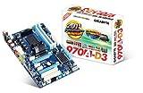 GIGABYTE マザーボード AMD AM3(+) ATX 970+SB950 3TB HDD対応 GA-970A-D3