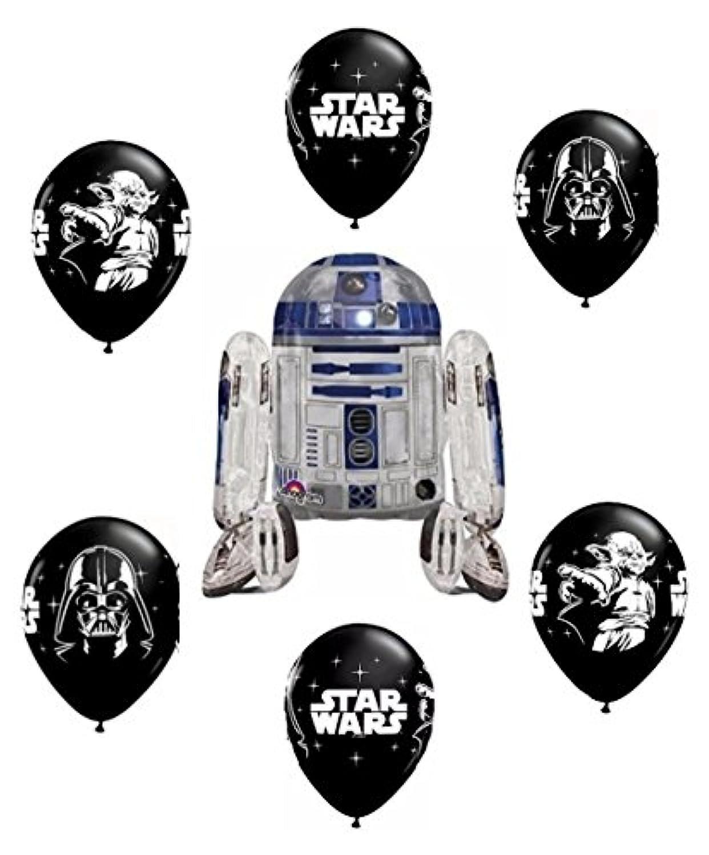 Star Wars R2d2 Airwalker Balloon Bouquet by Party Supplies