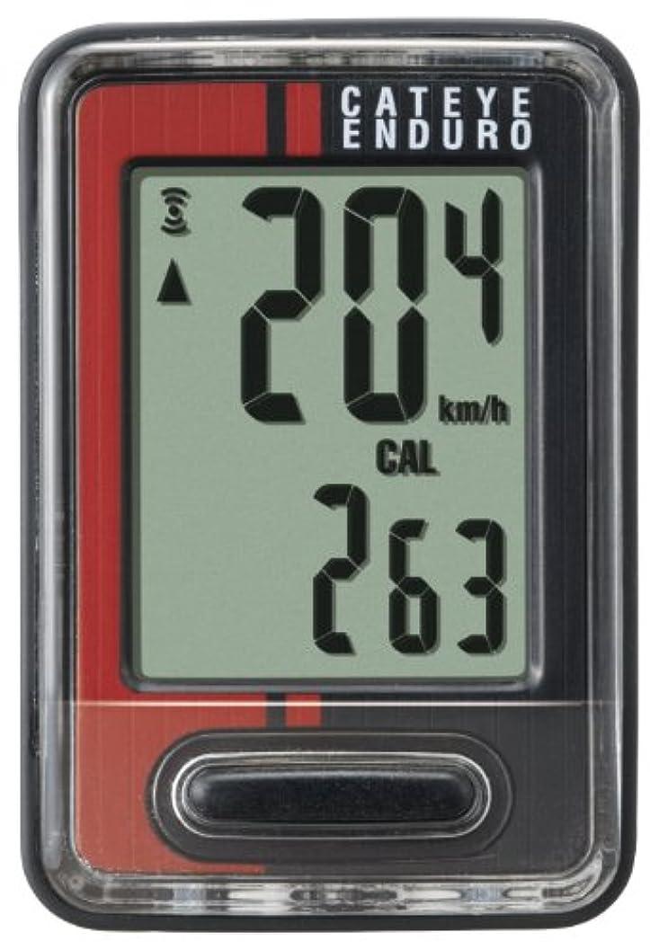 ペニー豆腐冊子CatEye Enduro CC-ED 400 Compteur filaire Noir/Rouge