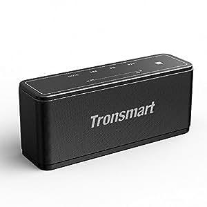 Tronsmart Mega Bluetooth4.2 スピーカー 40W出力 高音質/低音強化/NFC搭載/TWS対応/タッチ操作/15時間連続再生/ポータブル ワイヤレス ブルートゥース スピーカー 重低音 iPhone & Android対応【技適認証済】