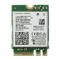 インテルデュアルバンド802.11ACワイヤレス第3世代3168WiFi + Bluetoothカード