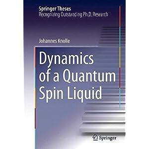 Dynamics of a Quantum Spin Liquid (Springer Theses)