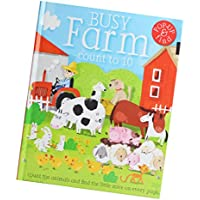 fityle 3d Pop Up Books for Kids Boys Girls (Story Book、ベビーブック、子供たちのBook) – A Busy Farm