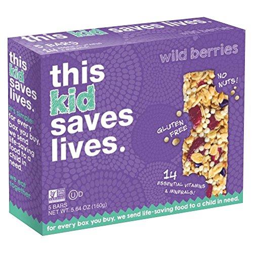 This Bar Saves Lives Mixed Berry Granola Bars 160g( 32gx5) ミックスベリーグラノーラバー [並行輸入品]