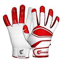Cutters(カッターズ) 野球 手袋 バッティング グローブ プライムヒーロー B350 L レッド