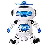 電動 踊る ロボット 宇宙 スマート ダンス ロボット 回転 ライト 付き 子供 キッズ 音楽 サウンド おもちゃ