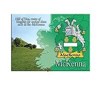 McKenna Clan Metallic Picture Fridge Magnet