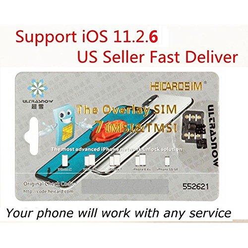 ocamoロック解除ターボSimカードfor iPhone X 876s 6Plus