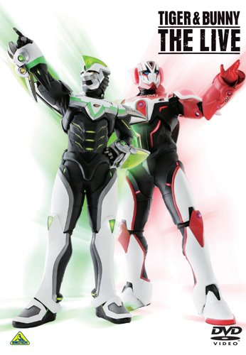 TIGER & BUNNY THE LIVE [DVD]の詳細を見る