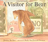 A Visitor For Bear (Turtleback School & Library Binding Edition) by Bonny Becker(2012-08-14)
