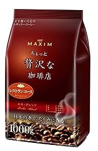 AGF レギュラーコーヒーちょっと贅沢な珈琲店 モカ・ブレンド 1kg