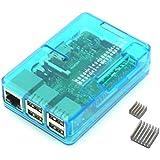 Raspberry Pi2 Model B ボード&ケースセット(Standard, Blue)