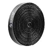 ORICO マジックテープケーブル結束バンド 幅1.5cm 長さ5M 黒